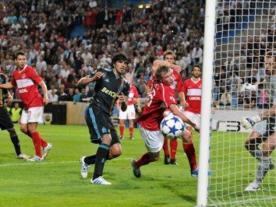 OM-Spartak Moscou (Ligue des Champions)