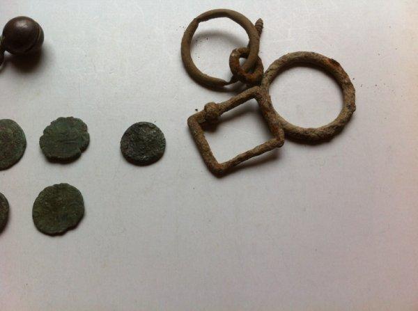 Nettoyage des Romaines de la bague et des grelots