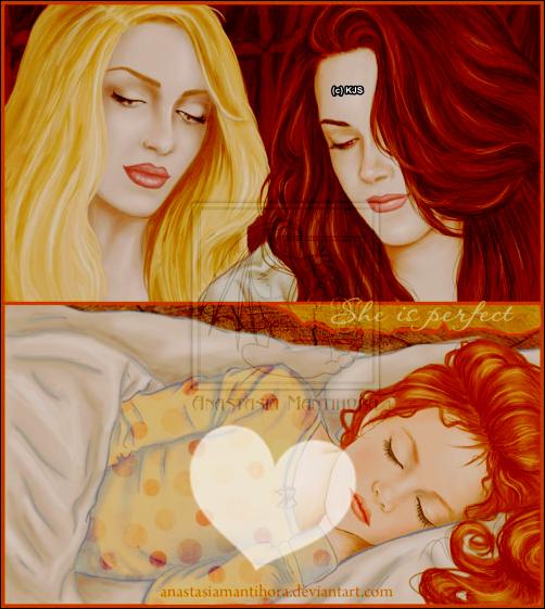 "~° Viens suivre l'Actualité de l'Actrice Américaine KRISTEN STEWART °~ sur KriistenJaymesStewart.skyrock.com/ ♥ •ARTICLE N° 2 : Rubrique :  - Fan'Art ""Breaking Dawn"". Par KELLYSTEW' ♥."