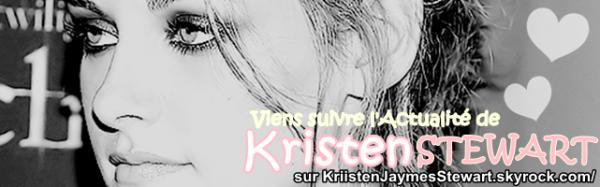 ~° Viens suivre Toute l'Actualité de l'Actrice Américaine KRISTEN STEWART °~ sur KriistenJaymesStewart.skyrock.com/ ♥  Rubrique : - Biographie &' Présentation. Par KELLYSTEW' ♥.