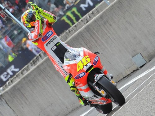 podium du grand de france moto 2012 ( avec Rossi ** )