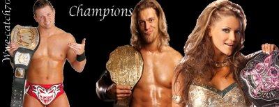 Champions Actuels de la WWE