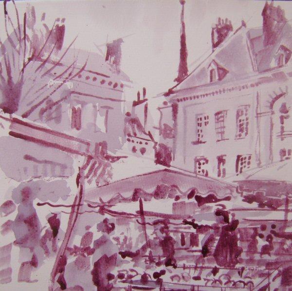 marché place de la République