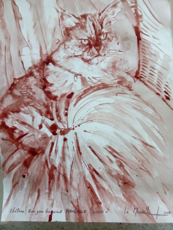 la chatte au MARGAUX
