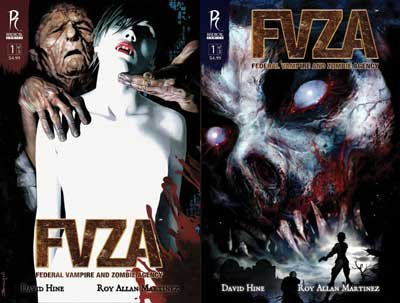 FVZA:Federal vampire and zombie agency tome 1 & 2