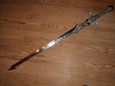 nouvelle épée de merlin