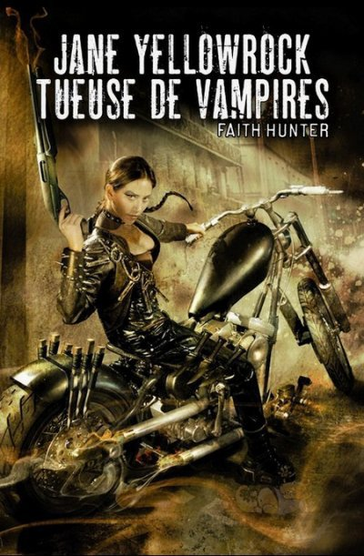 Jane Yellowrock tueuse de vampires(Faith hunter)