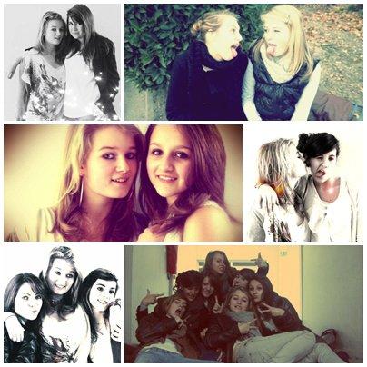 Les amies sont ceux qui reste la pour toi dans tout les cas. !