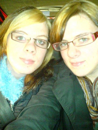 Moi & Ma Soeur, Jumellle ;) ♥ .