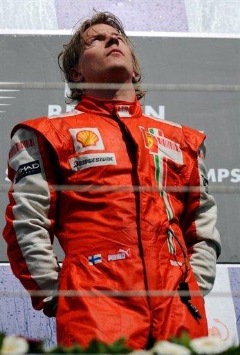 kimi quite la F1 Pour les Rally ,