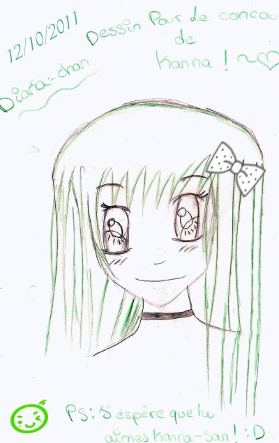 Concours de Dessin pour Kanna-san !