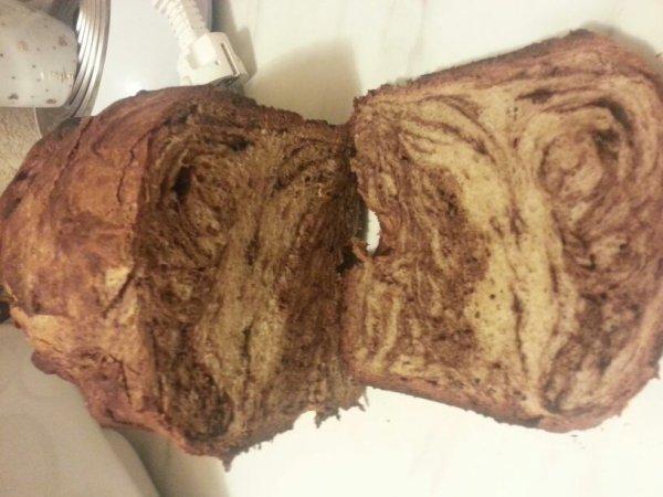 Ma première brioche chocolat!