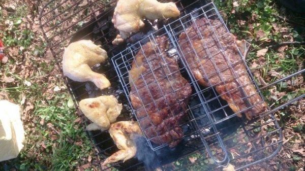 Nouvelle journée nettoyage, mais aussi barbecue !