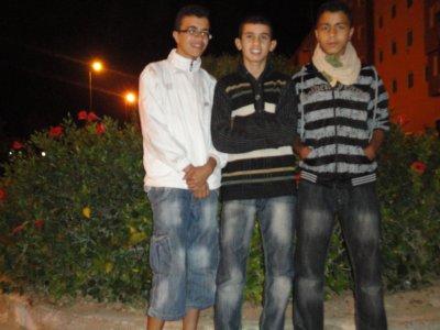 moi et hicham et 3adil