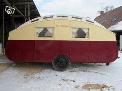 winchester caravane ancienne de collection henon notin. Black Bedroom Furniture Sets. Home Design Ideas