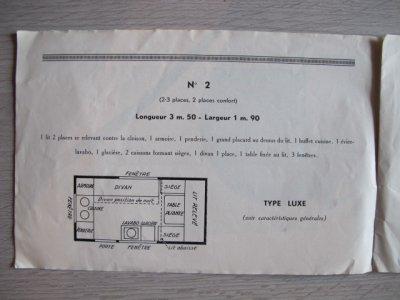 Dépliant Notin 1939