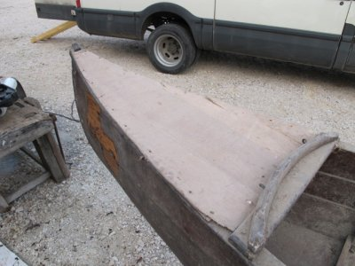 Restauration canoe 1930