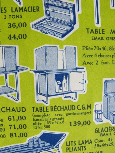 Table réchaud LAMA