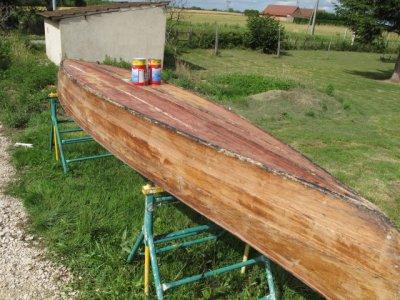 Restauration canoe 1930