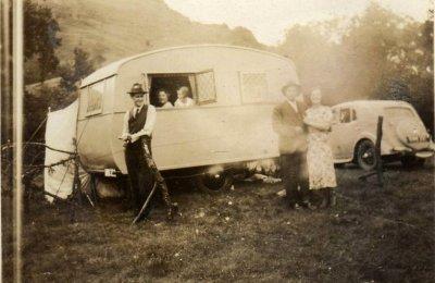 Caravaning en 1946