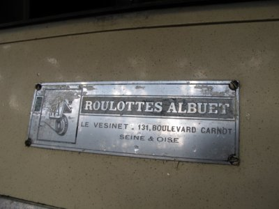 ROULOTTE ALBUET GIPSY 1954