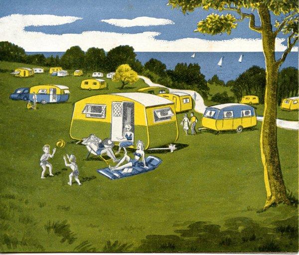 Un camping Anglais