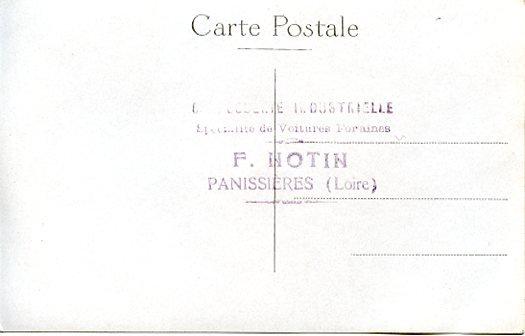 Une des 1iere Notin au début des années 1920