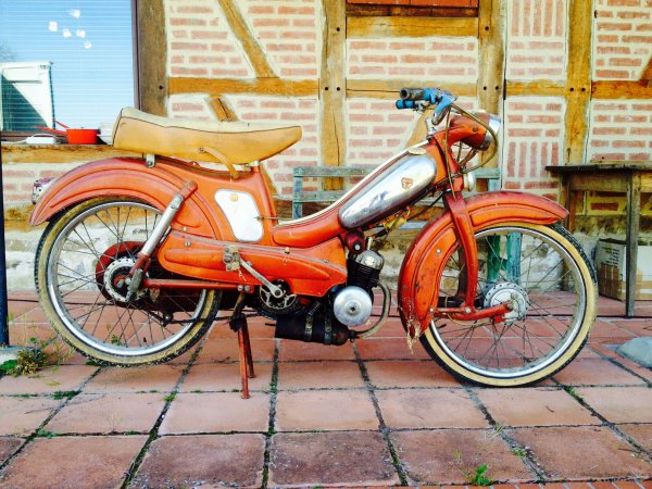 Sortie de grange : motoconfort 1962