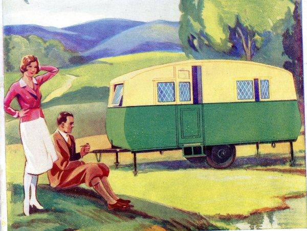 Caravanes anglaise