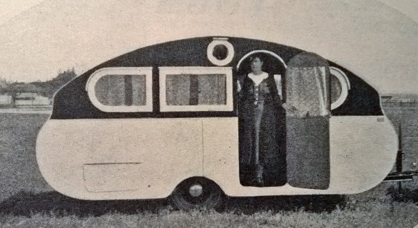 Magazine anglais THE CARAVAN de 1935