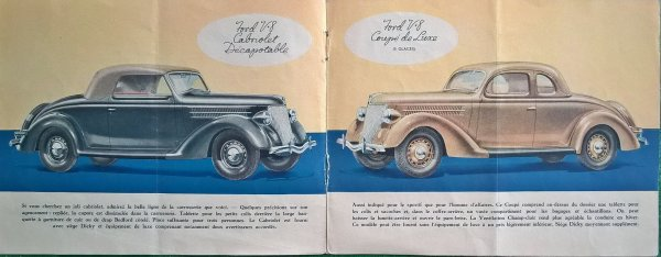 Brochure Ford 1936