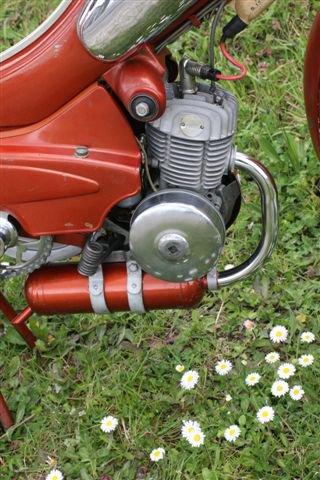motobecane AV89 balancier