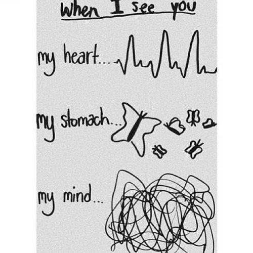 Je crois que je suis tombée amoureuse de toi. Je crois que je suis tombée amoureuse de ton coeur. Je crois que je suis tombée amoureuse de ton être. Je crois que je suis tombée amoureuse de ton âme.