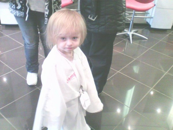 ma niece au coiffeur