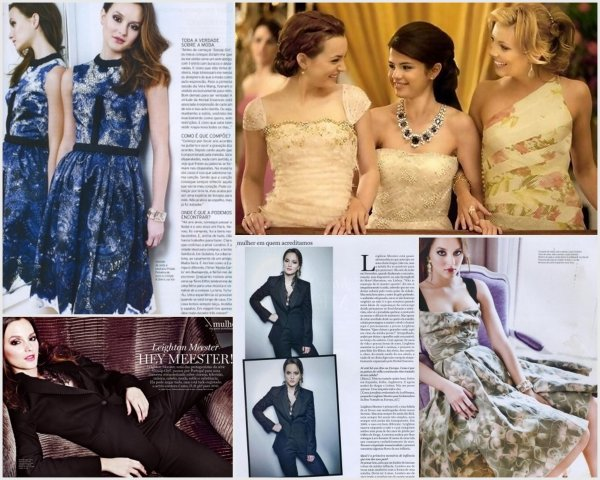 MTV Movie Awards 2011 + Ed Westwick's Photoshoot + Leighton On Lux Woman + Monte Carlo's first stills