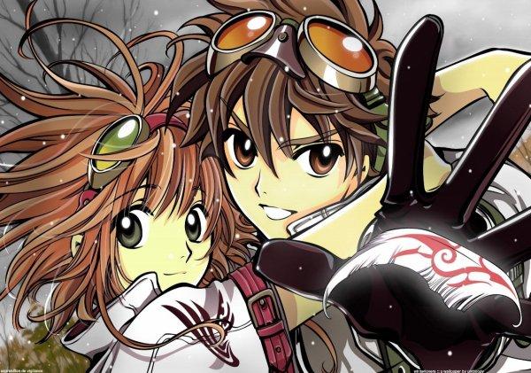 Shaolan et Sakura