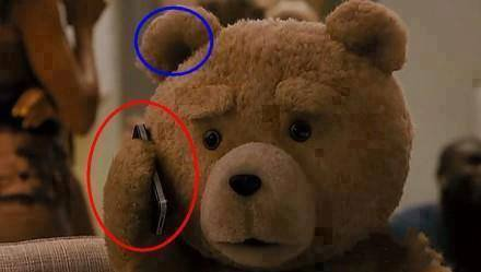 Ted au telephone xD