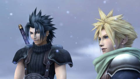 Cloud Strife et Zack Fair