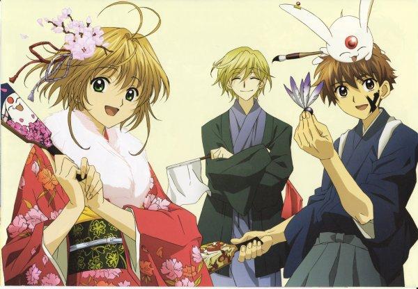 Fye D. Flowright , Sakura et Shaolan