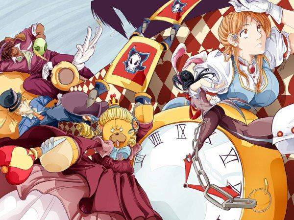 Ichigo , Orihime , Rukia , Sado et Kon