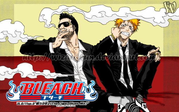 Ichigo et Isshin