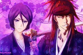 Rukia et Renji