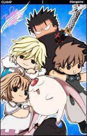 Kurogane , Fye D. Flowright , Shaolan , Sakura et Mokona