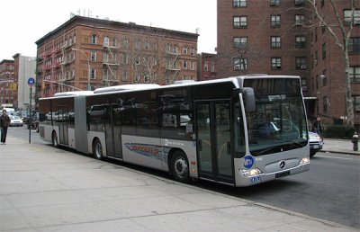 Les bus de la MTA