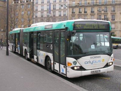 Le Roissybus et l' Orlybus