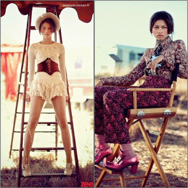 . Zendaya a posé pour Teen Vogue. Votre avis ? .