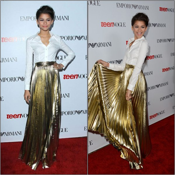".27-09-2012 :  Zendaya était à ""Teen Vogue Young Hollywood Party""..."