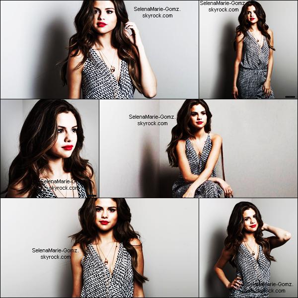 """Selena à fait un shoot pour son interview, au journal """"Le Parisien""""."""