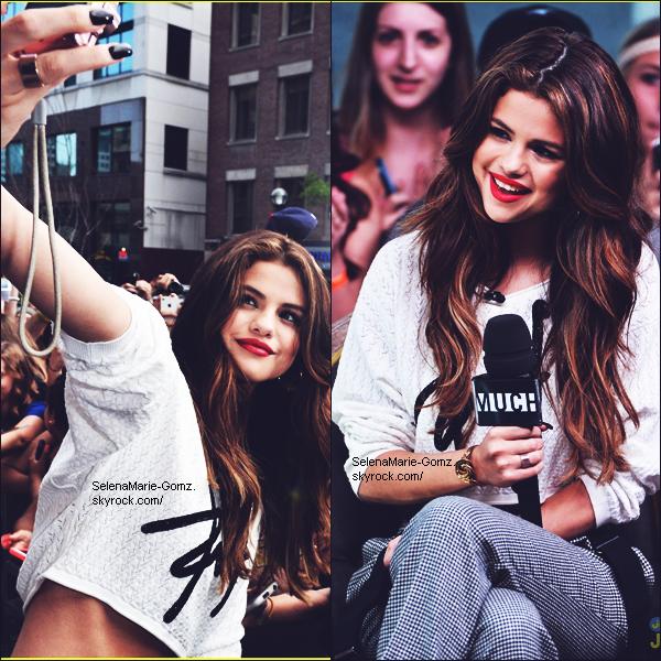 """30/05 ~ Selena a participée au programme """"NewMusicLive"""", et à donner un """"petit cours"""" de danse pour danse CAGI."""