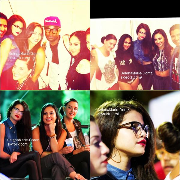 09/06/13 ~ Selena était au concert de Kat DeLuna pendant la « Gay Parade », à L.A.